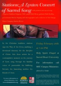 Stations - A Lenten Concert of Sacred Song